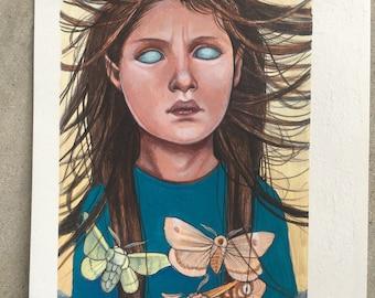 ORIGINAL Moth Girl
