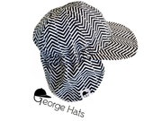 SALE || Zigzag Flannel Hat