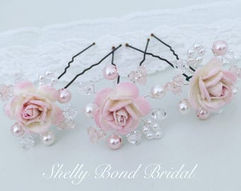 Blossom Hairpins x3