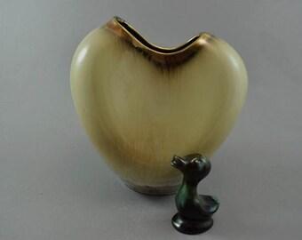 Well shaped vintage vase / Carstens Tönnieshof / 481   West Germany   WGP   50s