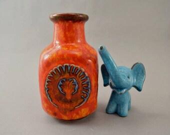 Vintage vase / Bay / 80 14 | West Germany | WGP | 60s
