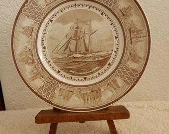 Wedgwood American Sailing Ships Dos Amigos