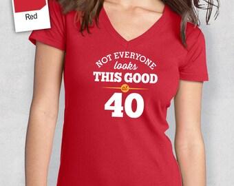 40th Birthday, 1977 Birthday, Shirt, T Shirt, For Her, 40th Birthday Idea, 40th Birthday Present, Birthday Gift. 1977 Birthday, 1977 Shirt