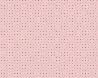 1 Yard Les Petits  by Amy Sinibaldi for Art Gallery Fabrics - Petits Stipples- 611 Rose
