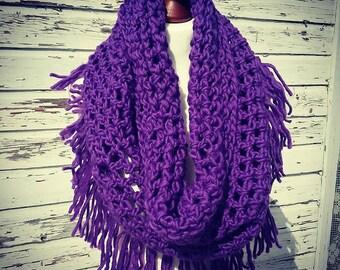 Loop fringe * scarf * Schulterwärmer * scarf * 100% wool