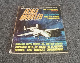 Scal Modeler Magazine Volume 3 No. 2 July 1968