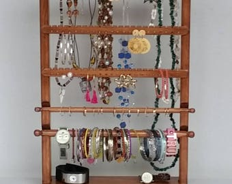 Earring Holder, Jewelry Display, Jewelry Organizer, Earring Display, Jewelry Holder, Jewelry Rack, Ring Holder, Bracelet Display, Earrings