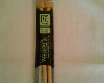 Clover Bamboo Knitting Needles No. 13