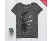 Woman Graphic Tee Organic...