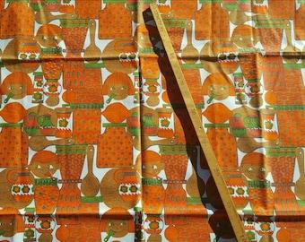 A small cloth/fabric made in Swedich  70 cm x 75 cm