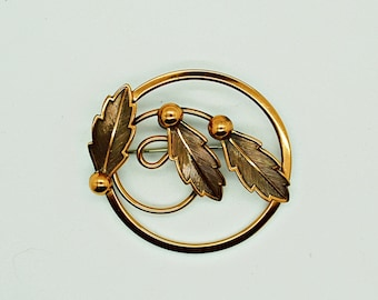Solid Copper Brooch Bell Brooch Southwestern Jewelry Fashion Jewelry Collectible Jewelry