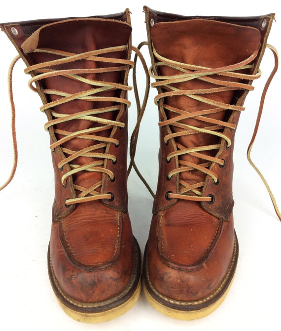 Beautiful Red Wing Shoes Nashua Women39s Leather Boots 130 NEW 8  EBay