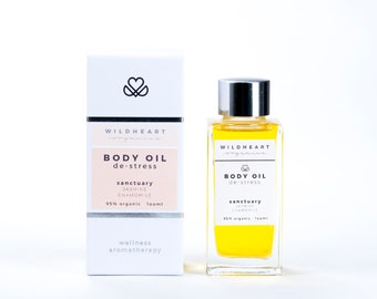 Organic Aromatherapy Wellness Body Oil