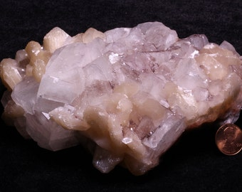 Apophyllite Stilbite Crystal Cluster *1.7 lb*