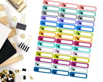 Pill/Prescription Mini Label Stickers! Perfect for your Erin Condren Life Planner, calendar, Paper Plum, Filofax!