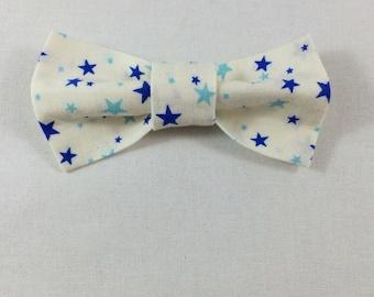 Starry Cat Bow tie, Cat tie, Cat Bow tie collar