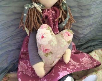 Handmade fabric/cloth doll