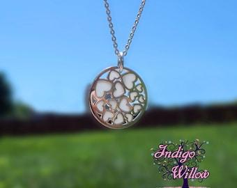 Love Grows Breast Milk Necklace from Indigo Willow-- Breast Milk Jewelry