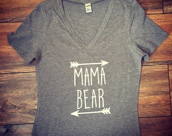 Mama Bear shirt|Papa Bear|Baby Bear|Auntie Bear tshirt