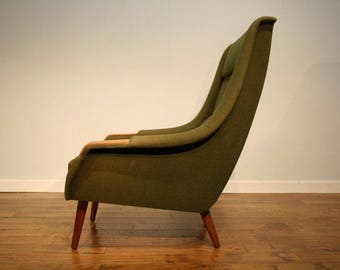 Classic, vintage Danish Armchair circa 1960 for re upholstery
