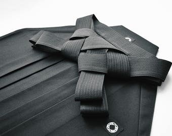 Deluxe Hakama Black - Made to Order & Free Shipping Worldwide