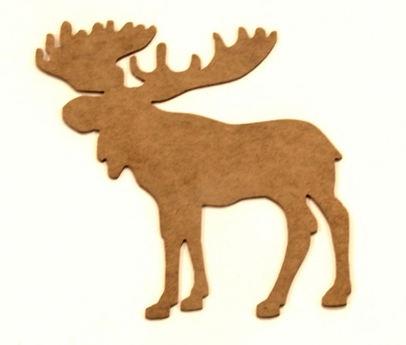 Moose Silhouette Cut-out - Variety Of Sizes