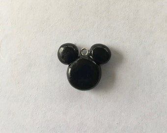 Mickey charm - polymer clay