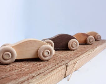 Small Wooden Car / Purse Car/ Toy car / Toddler Toy / Gift for Kids / Natural Toy / Wood Toy