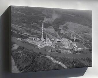 Canvas 24x36; Gorgas Electric Generating Plant Loc Habs 180273
