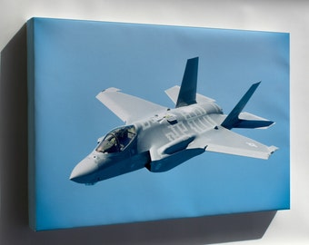 Canvas 24x36; F-35A Lightning Ii 58Th Fighter Squadron, 33Rd  P1