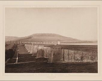 16x24 Poster; Reservoir Du Grosbois France 1883