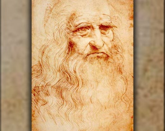16x24 Poster; Leonardo Da Vinci Self Portrait
