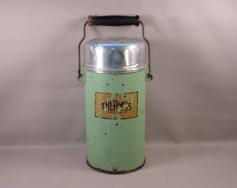 Cool Old Thermos Insulated Glass with Cork