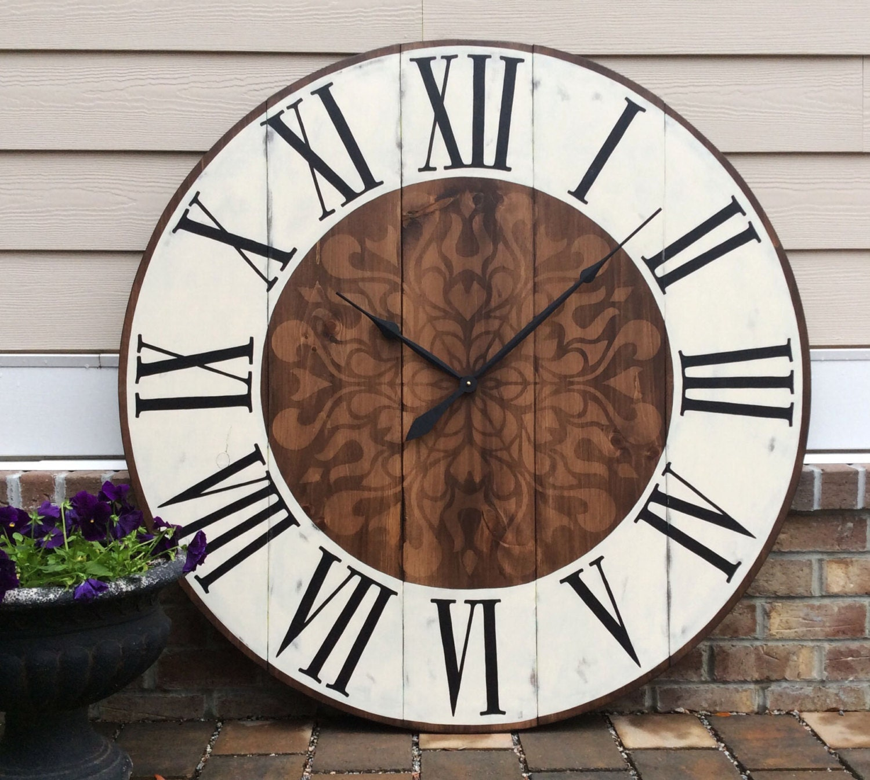 Decorative Wall Clocks Large Wall Clock by FunCoolWallClocks
