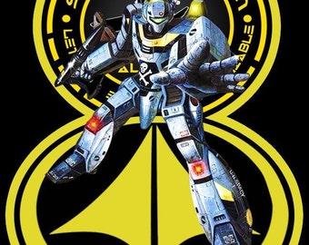 Robotech Vinatge Image T-shirt