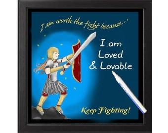 Inspire Erase Board - Worth the Fight