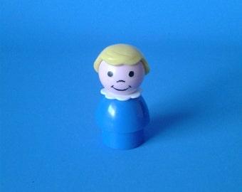 "Fisher Price Little People "" #141 Mini Van Blond Hair Girl "" 1970's"