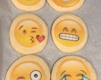 Emojis butter cookies 12
