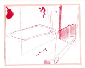 greenwich bathroom Drawing