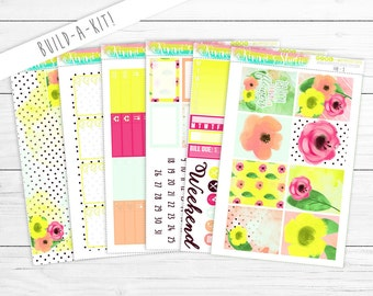 May Flowers Build-a-Kit! | (perfect for the Erin Condren Life Planner, Happy Planner, Personal Planner & More!)