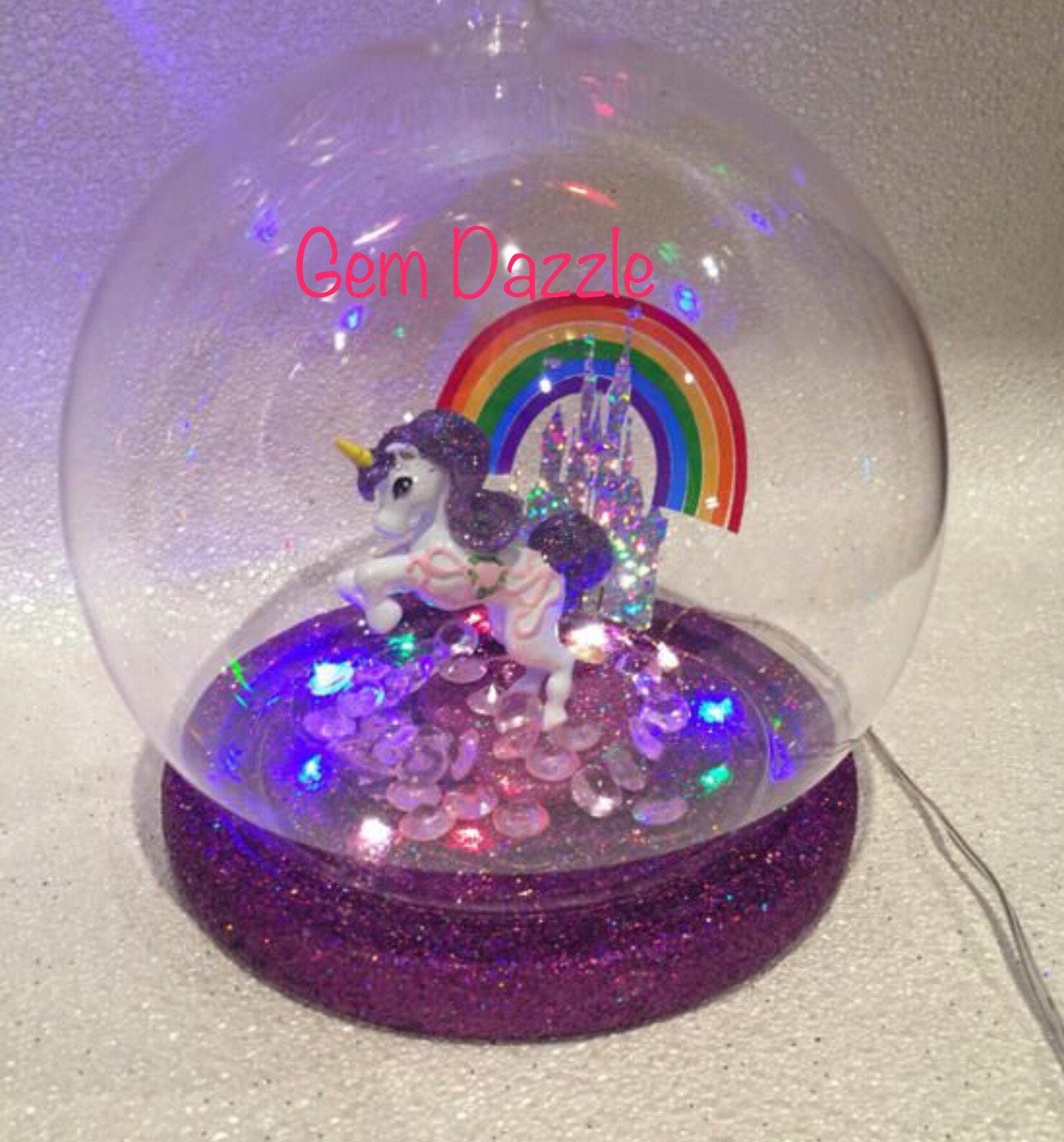 Light Up Unicorn Rainbow Night Light