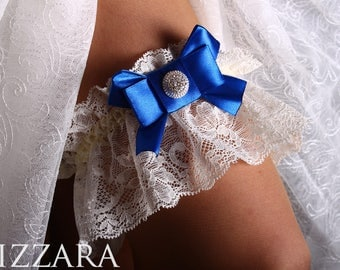 Royal Blue Wedding lace toss garter bride wedding ideas bridal lace garters wedding royal blue garter brides accessories Wedding blue set