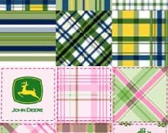 Pink Or Green John Deere Blanket