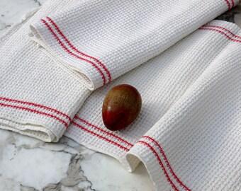 Grandma's tea towels, Waffelpiquetücher