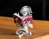Little Women Book Sculpture Figurine