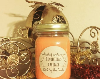 Cinderella's Carriage 100% Soy Wax Candle