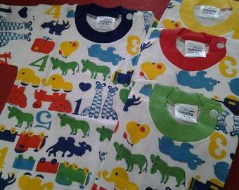 Vintage Retro Print Animal T-shirt