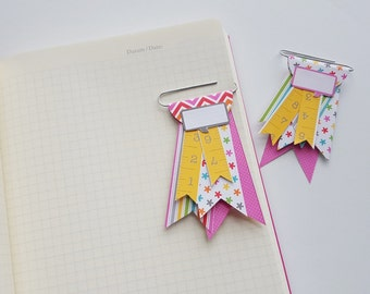 Embellished Paper Clips for  Journal, Planner, Notebook