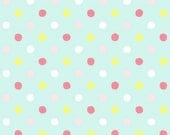 Tropic Like It's Hot - Full Fabric Collection - Dear Stella Fabrics - Sprinkles in Bay (Aqua) - Fabric By The Half Yard