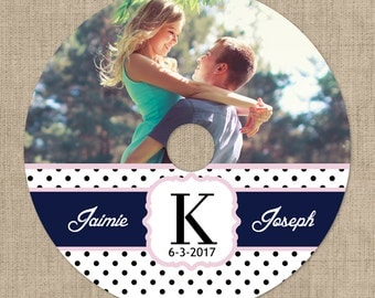 Custom Printed CD Labels, Custom Designed & Personalized, Your Photos, Your Text, Your Colors, Our Custom Designs, Custom Logo, Your Choice
